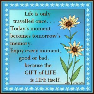 The gift of life.